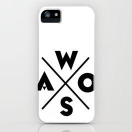 WOSA - World of Street Art iPhone Case