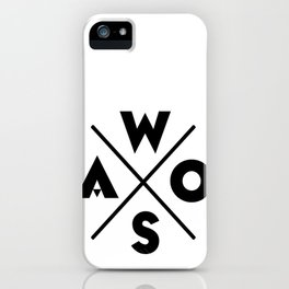 WOSA - World of Street Art iPhone Case
