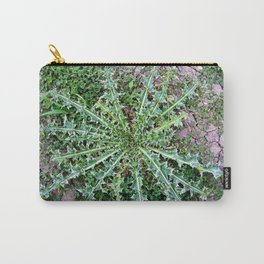 Thorny Musk Thistle Basal Rosette Carry-All Pouch