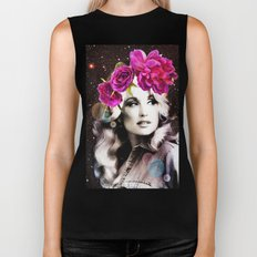 Holy Dolly (dolly parton) Biker Tank