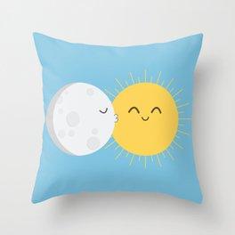 I Love You Sun! Throw Pillow
