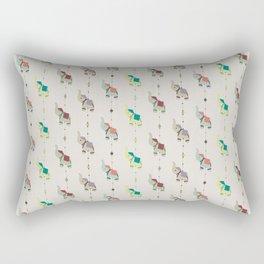 Indian Elephants Rectangular Pillow