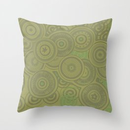Forties Flair Throw Pillow