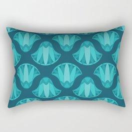 Lotus Pattern Rectangular Pillow