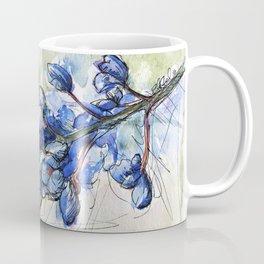 Spring Watercolor Texas Bluebonnet Flowers Coffee Mug