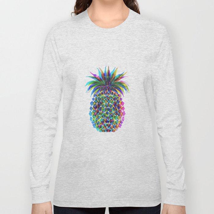 Pineapple CMYK Long Sleeve T-shirt