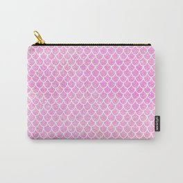 Pink Glitter Mermaid's Tail Carry-All Pouch