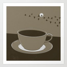 GOOD MORNING 10 Art Print