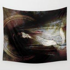 dark and light Wall Tapestry