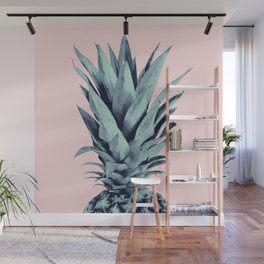 Blush Pineapple Dream #1 #tropical #fruit #decor #art #society6 Wall Mural