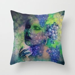I SHALL DRINK WINE Throw Pillow