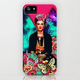 Galaxy Frida iPhone Case