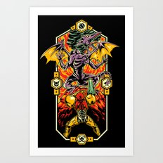 Epic Super Metroid Art Print