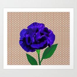 Bloomin' Violet Art Print