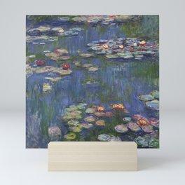 Water Lilies - Claude Monet Mini Art Print