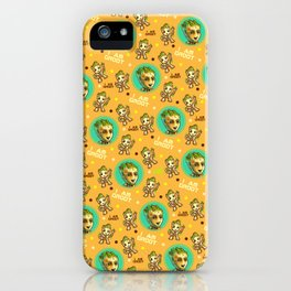 Guardians of the Galaxy Baby pattern iPhone Case