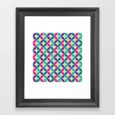Color Switch II Framed Art Print