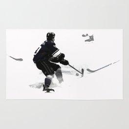 The Deke - Hockey Player Rug