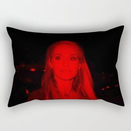 Elizabeth Berkley - Celebrity (Photographic Art) Rectangular Pillow