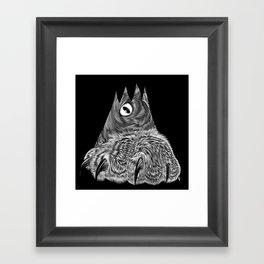 Clawy Framed Art Print