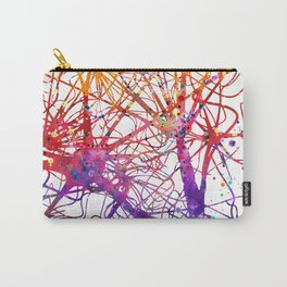 Neural Network Watercolor Neurologist Gifts Carry-All Pouch
