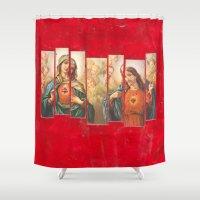 faith Shower Curtains featuring Faith by Ibbanez