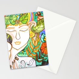 Earth Awakening Stationery Cards