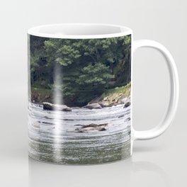 Calming the River Large Print Coffee Mug