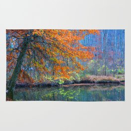 Fall on the River Rug