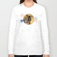 popeye Long Sleeve T-shirts featuring POPEYE THE SAILOR MOON - 001 by Lazy Bones Studios