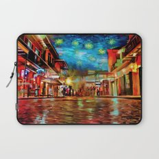 French Quarter Under the Stars Laptop Sleeve