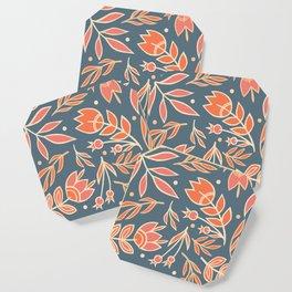 Loquacious Floral Coaster