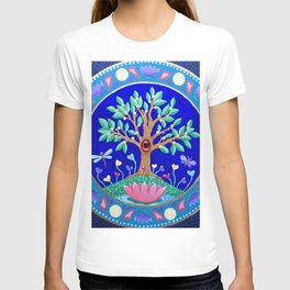 Tree of Love July Mandala T-shirt