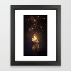 Spores Framed Art Print