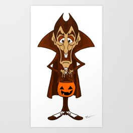 Count Chocula Art Print