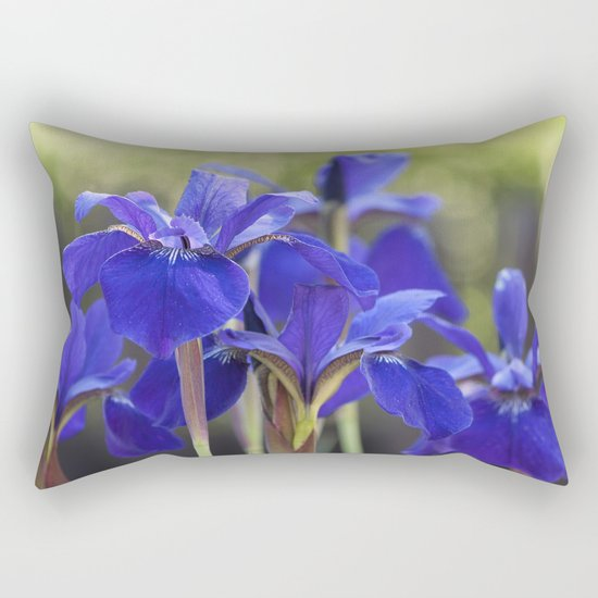 Iris in Love Rectangular Pillow
