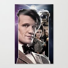 Doctor Who -11th Doctor Canvas Print