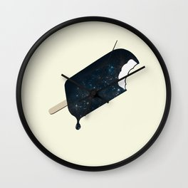Space Melter Wall Clock