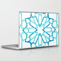 arabic Laptop & iPad Skins featuring Arabic Pattern by Soso Creation