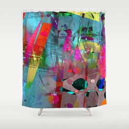 infidelity Shower Curtain