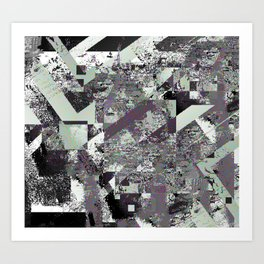 LoPixel Art Print