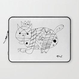 Joan Miro El Gato The Cat Artwork for Prints Posters Tshirts Men Women Kids Laptop Sleeve