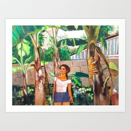 Of Palms and Seeds Art Print