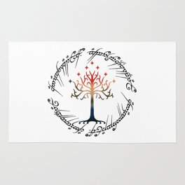 Tree The Ring Space Rug