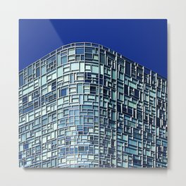 Panes in the Glass Metal Print