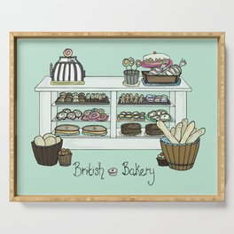 British Bakery Serving Tray