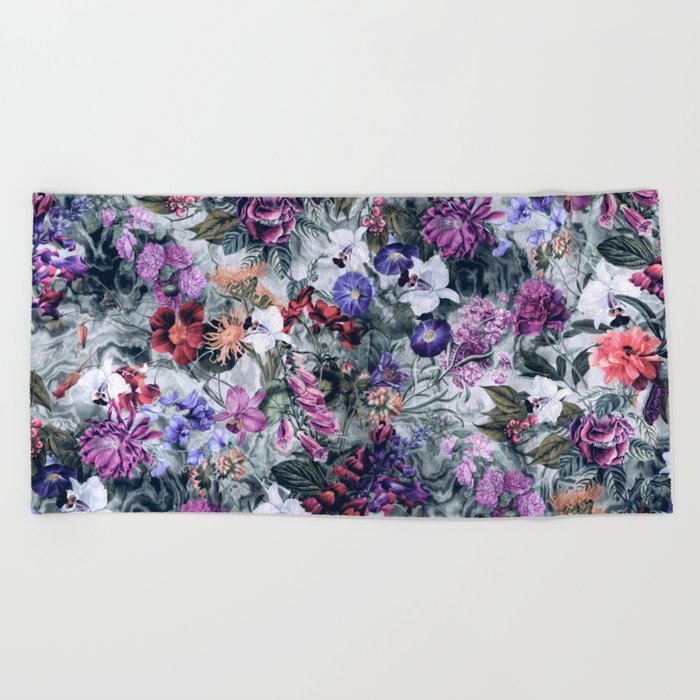 Botanical Dreams Beach Towel