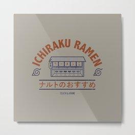 Ichiraku Ramen Metal Print