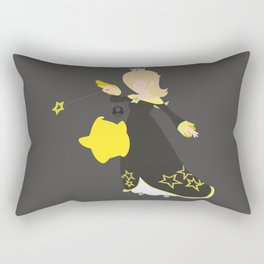 Rosalina(Smash)Black Rectangular Pillow