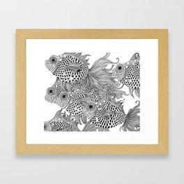 White Fish I Framed Art Print